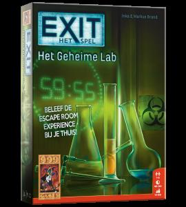 EXIT - Het Geheime Lab - Bordspel
