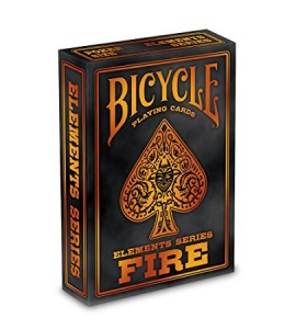Pokerkaarten Bicycle Fire