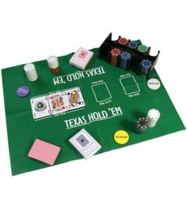 Jetons blik 200 Texas Hold'em