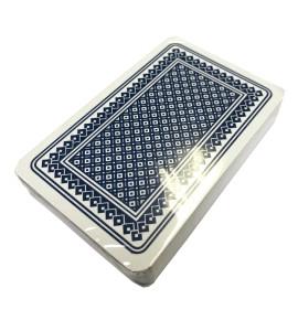 Kaartspel Carlton 52 kaarten - frans - blauw