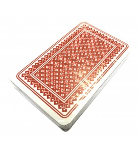 Kaartspel Carlton 52 kaarten - frans - rood