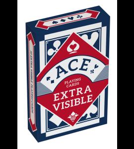 Kaartspel ACE Extra Visible blauw