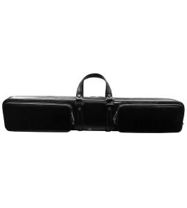 Koffer Leder Zwart 2/5