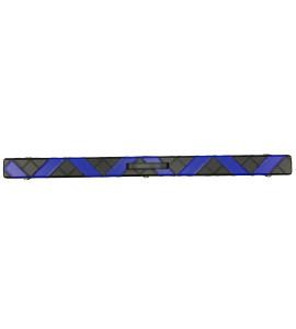 Koffer 3-delige Snooker Keu Kunstleder zwart-blauw