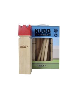 Kubb Original met Rode Koning