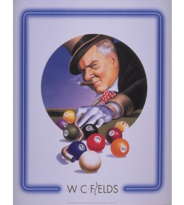 Poster W.C. Fields Top Hat