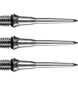 Dart Punten - schroefmodel 3st - staal 2BA