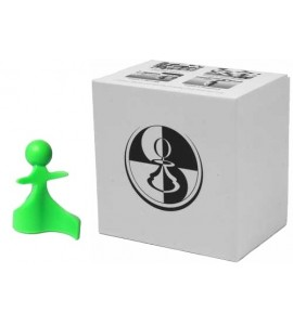 Paco Ŝako Vredes schaakstukken groen