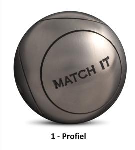 Petanqueballen OBUT Match IT