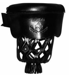 Pockets Buffalo zwart leder set