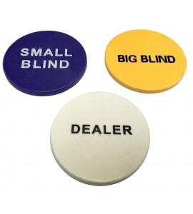Poker - Dealer Buttonset