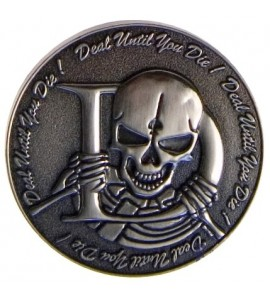 Poker - Dealer Button Skelly