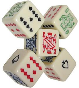 Poker Dobbelstenen 16mm