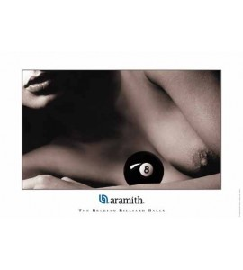 Poster Aramith Lady 8-Ball
