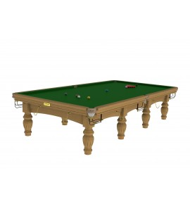 Snooker 12ft Riley Aristocrat - Solid Oak