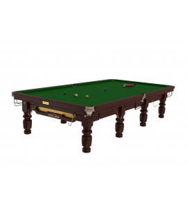 Snooker 12ft Riley Club - Mahogany Steelblock