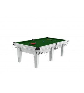 Snooker 8ft Riley Grand - Gloss White