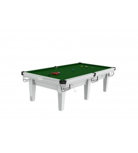 Snooker 9ft Riley Grand - Gloss White