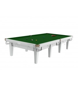 Snooker 12ft Riley Grand Professional - Gloss White