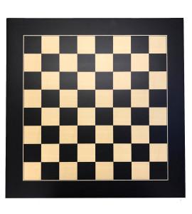 Schaakbord Zwart/Ahorn 40mm