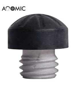 Schroef Pomerans aluminium 12mm