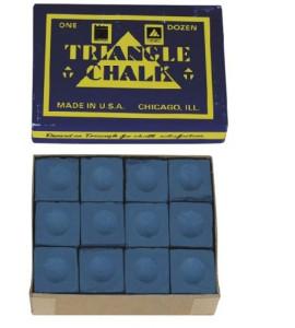 Krijt Triangle Blauw
