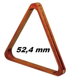 Driehoek voor Snooker Hout Deluxe